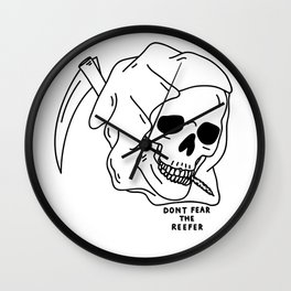Don't Fear the Reefer Wall Clock