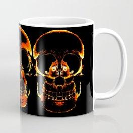 Skull - La Vie et La Mort Coffee Mug