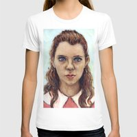 karu kara T-shirts featuring Suzy - Moonrise Kingdom - Kara Hayward by Heather Buchanan