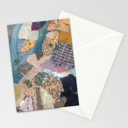 A Patchwork of colour Stationery Cards