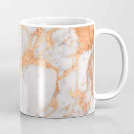 Copper Marble Coffee Mug
