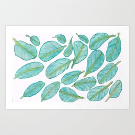 Collards Art Print