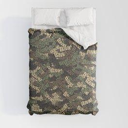 David Camouflage Comforters