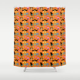 GIRLZ Shower Curtain