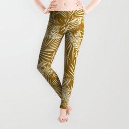 Jungle Glam Decor / Tigers and Palms Leggings