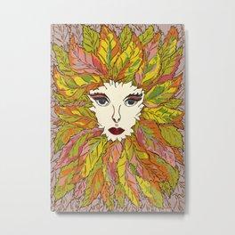 Green Lady - Summer Metal Print