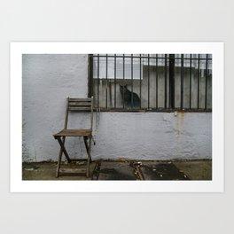 Empty Seat Art Print