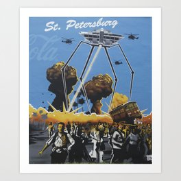 St. Pete Wars Art Print