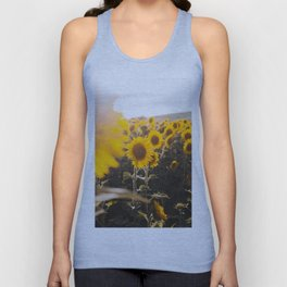 Sunflower's Season (III) Unisex Tank Top