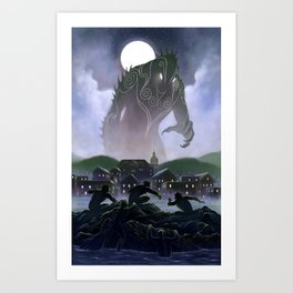 Devil's Reef Art Print