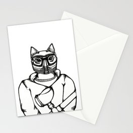 Paintball Kitty Stationery Cards
