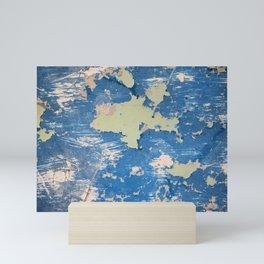 Abstract Blue Mini Art Print