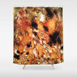Hot switch Shower Curtain