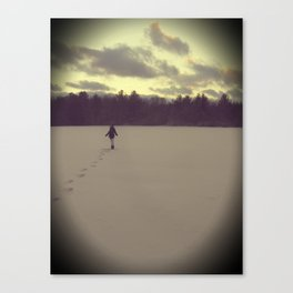 Cold Days Canvas Print