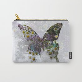Beautiful floral butterfly Carry-All Pouch