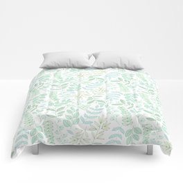 For the love of green Comforters