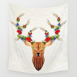 deer spring Wall Tapestry