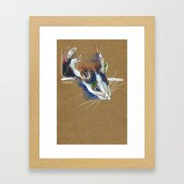 Ketamine the rat Framed Art Print
