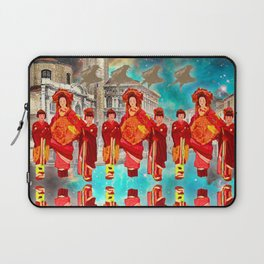 THE FLOATING GIRLS IN RED IN VENICE Laptop Sleeve