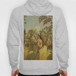 "Henri Rousseau "" Eve in the Garden of Eden"", 1906-1910 Hoody"