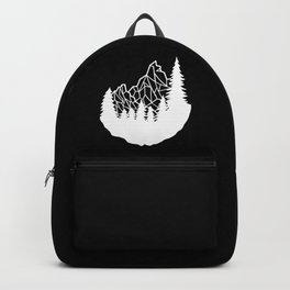 Mountain Geometry Backpack