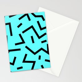Blue Pattern Stationery Cards