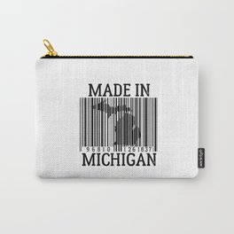 MADE IN MICHIGAN Barcode Carry-All Pouch