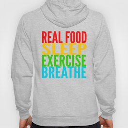 Eat, Sleep, Exercise, Breathe Hoody