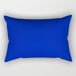 Blue (Pantone) - solid color Rectangular Pillow
