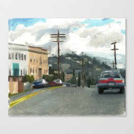 five Canvas Print