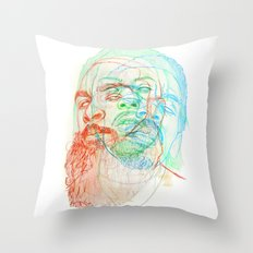 The Glorious Dead Throw Pillow