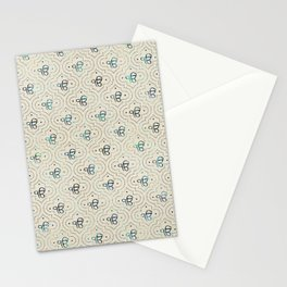 Gold and Abalone Ek Onkar / Ik Onkar pattern Stationery Cards