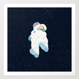 WHERE IS MY LOVE? Art Print