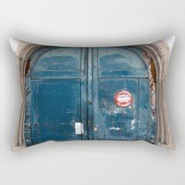 The Garage Rectangular Pillow