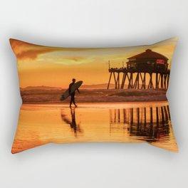 HB Sunset Surfer 12-16-18 Rectangular Pillow