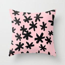 Secret Buttholes - PINK Throw Pillow