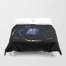 Space and Time and the Universe Duvet Cover