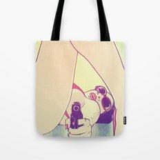 Girl With Gun 2 Tote Bag