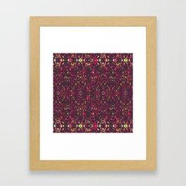 It's All Purple Gravy Baby Framed Art Print