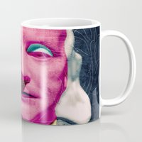 frank sinatra Mugs featuring Frank by Alec Goss