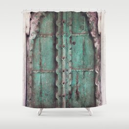 Doors Of Rajasthan Shower Curtain