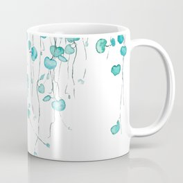 string of hearts watercolor Coffee Mug