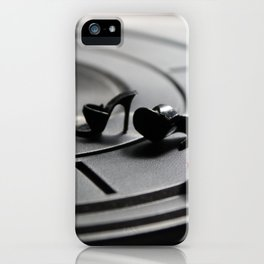 Scratching Circles iPhone Case