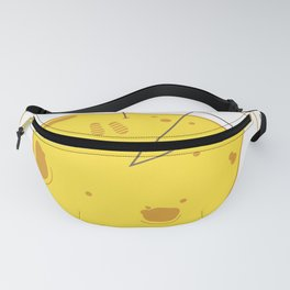Planet Cheese Fanny Pack