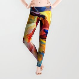 Highland Cow 4 Leggings