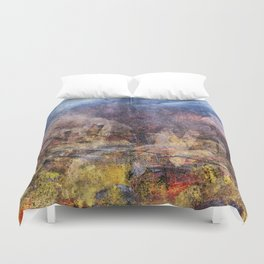 FROM THE RUBBLE Duvet Cover