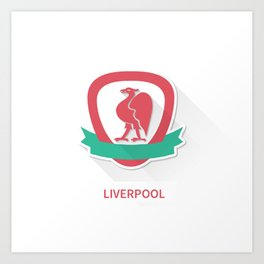 Liverpool Smooth Logo Art Print