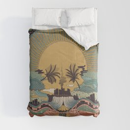 LA -Inspired by Penny Dreadful: City of Angels Comforters