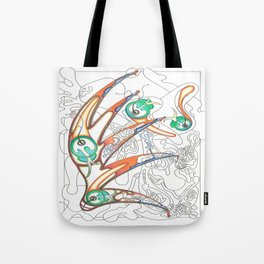 Embryonic Fly Trap Tote Bag