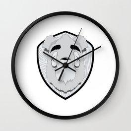 Dead Bear Wall Clock